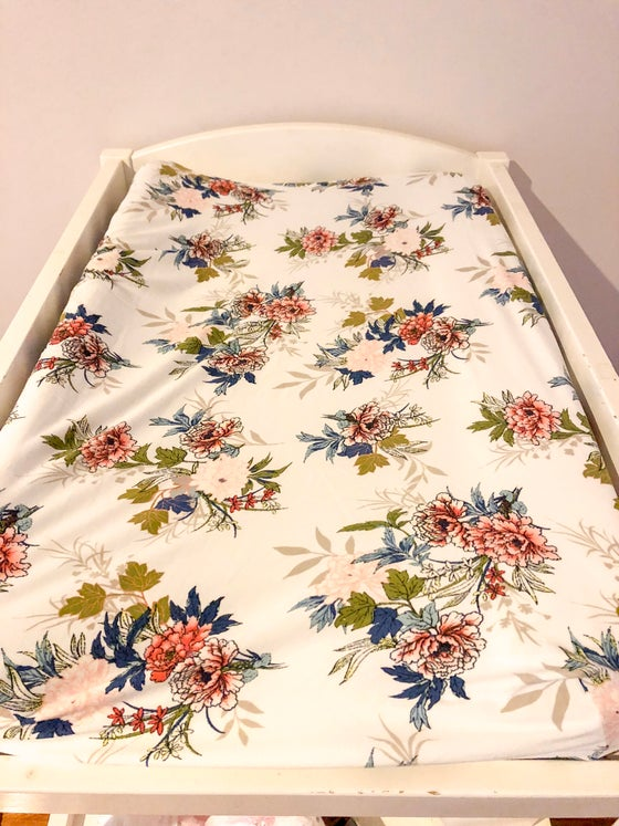 Image of Everly Floral Sheets