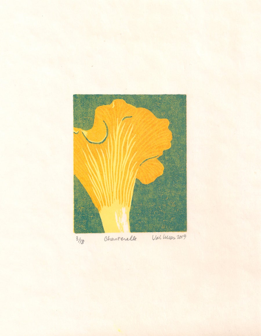 Image of Chanterelle Print