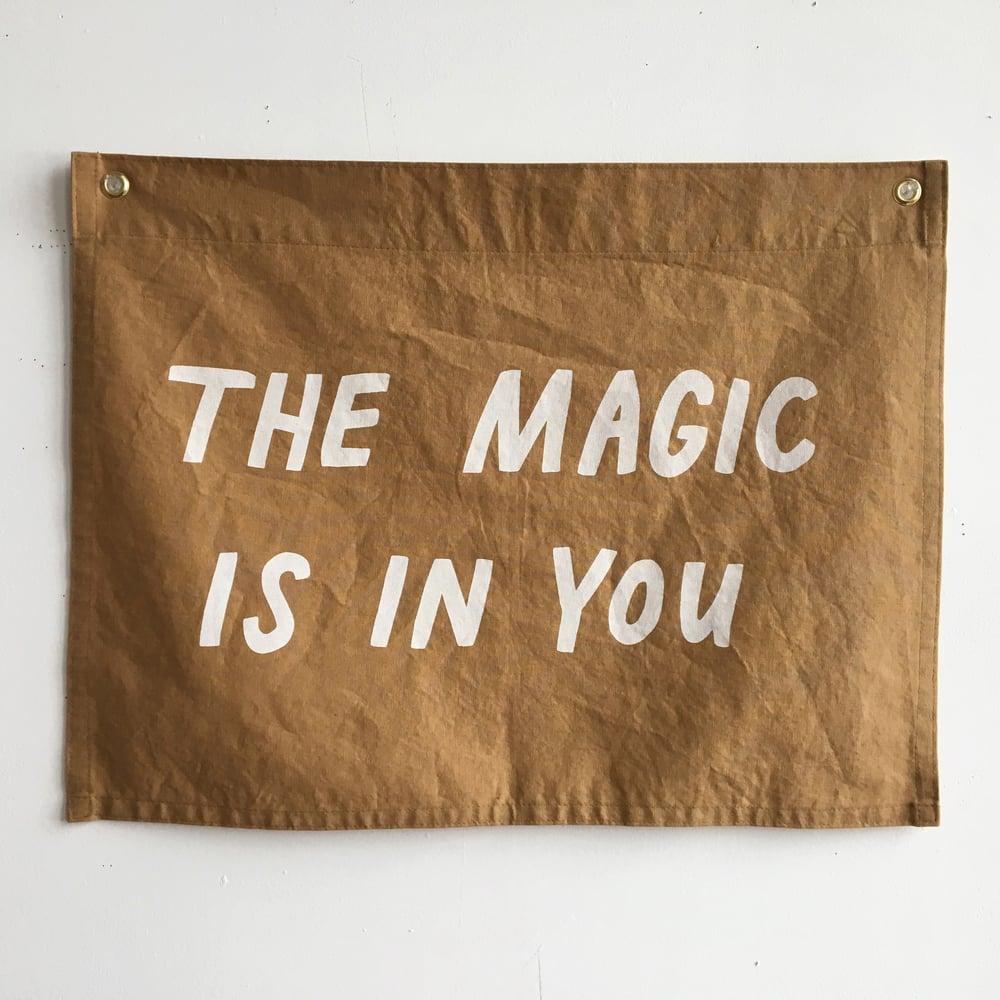 Image of MAGIC Flag - Ochre