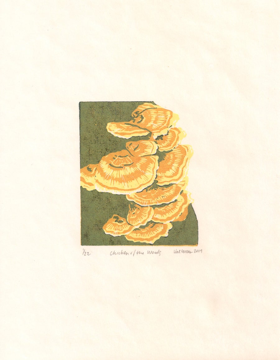 Image of Chicken of the Woods Print