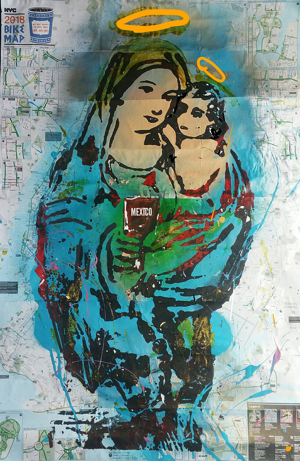 "Image of ""Virgin Mary and the child./Mexico."""