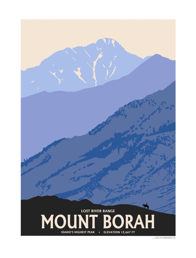 Image of Mount Borah 2018 Idaho's tallest peak