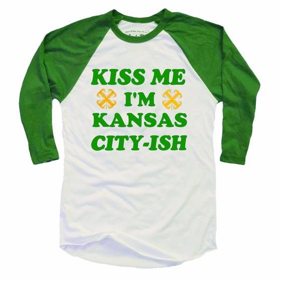 Image of Kansas City-ish raglan