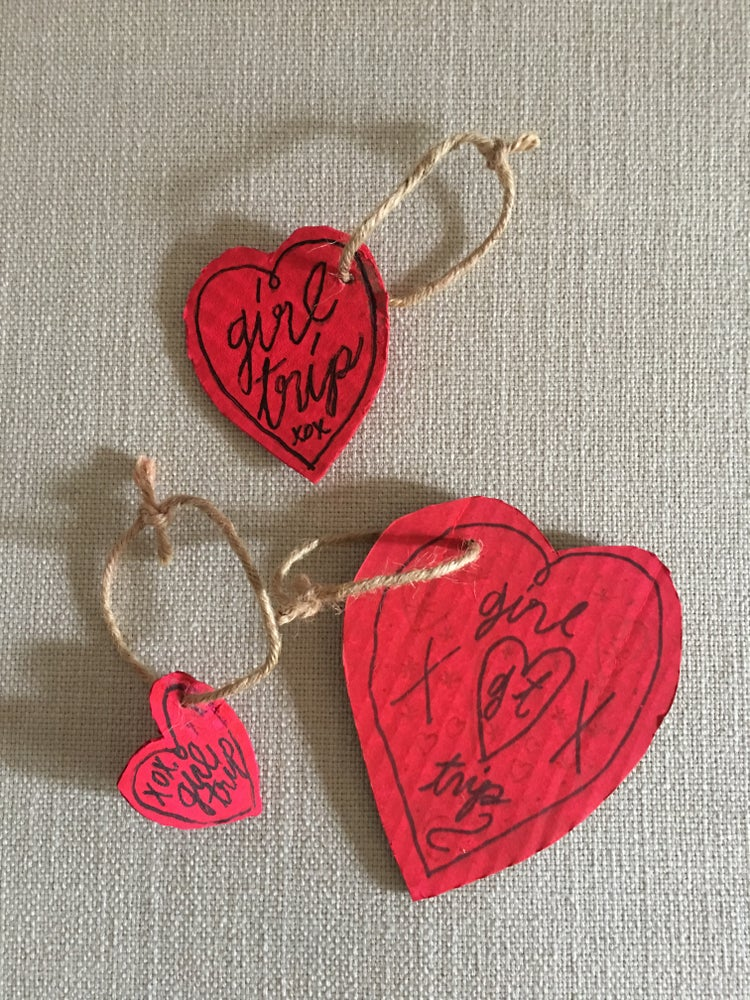 Image of Heart Tags