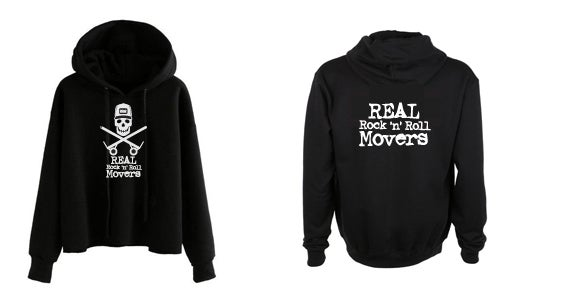 Image of REAL RocknRoll Movers Pullover Hoodie