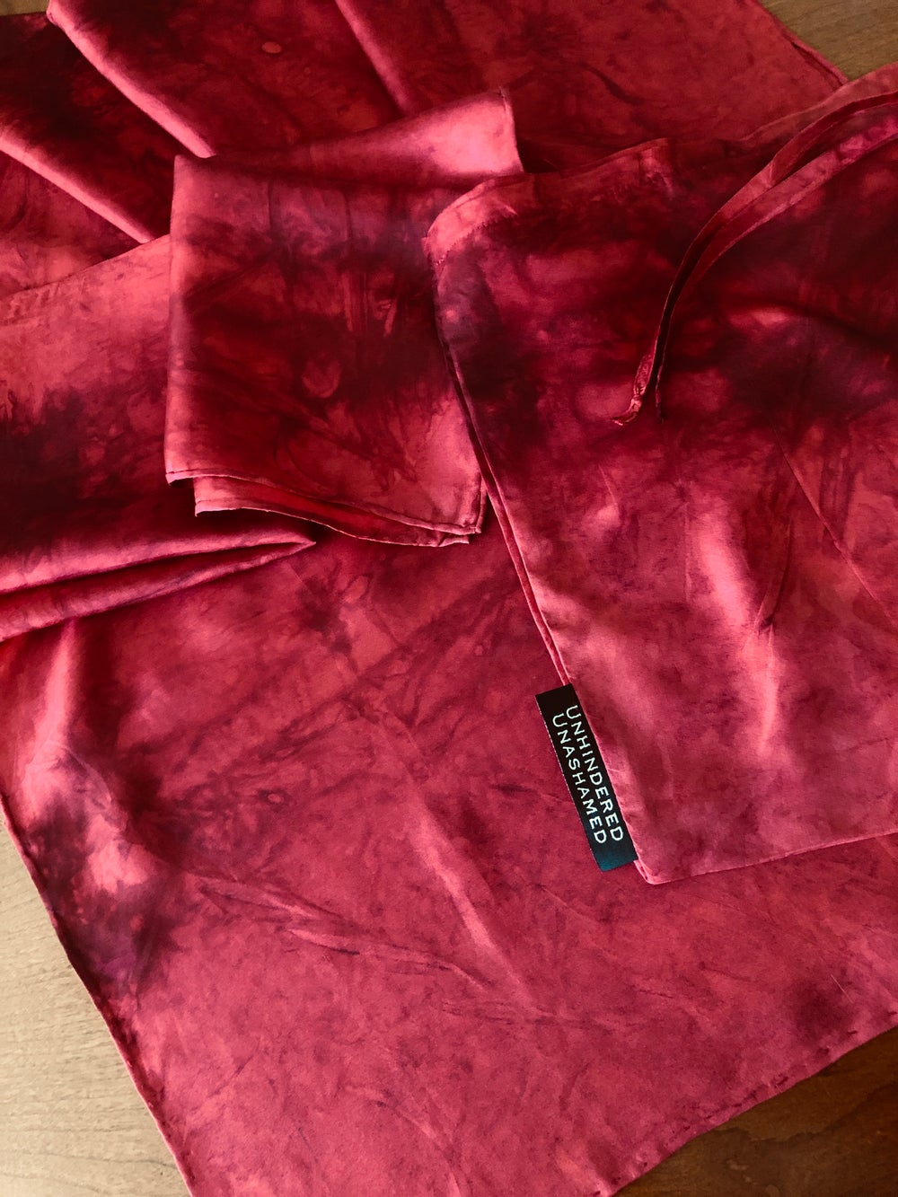 "Image of ""The Blood Of Christ"" Silk Handkerchiefs"