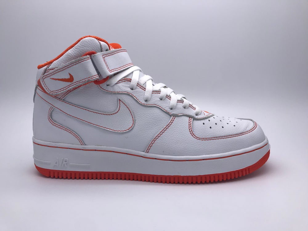 "new arrivals f6c5a 2a9d0 Image of NIKE AIR FORCE 1 B ""WHITE SAFETY ORANGE"""