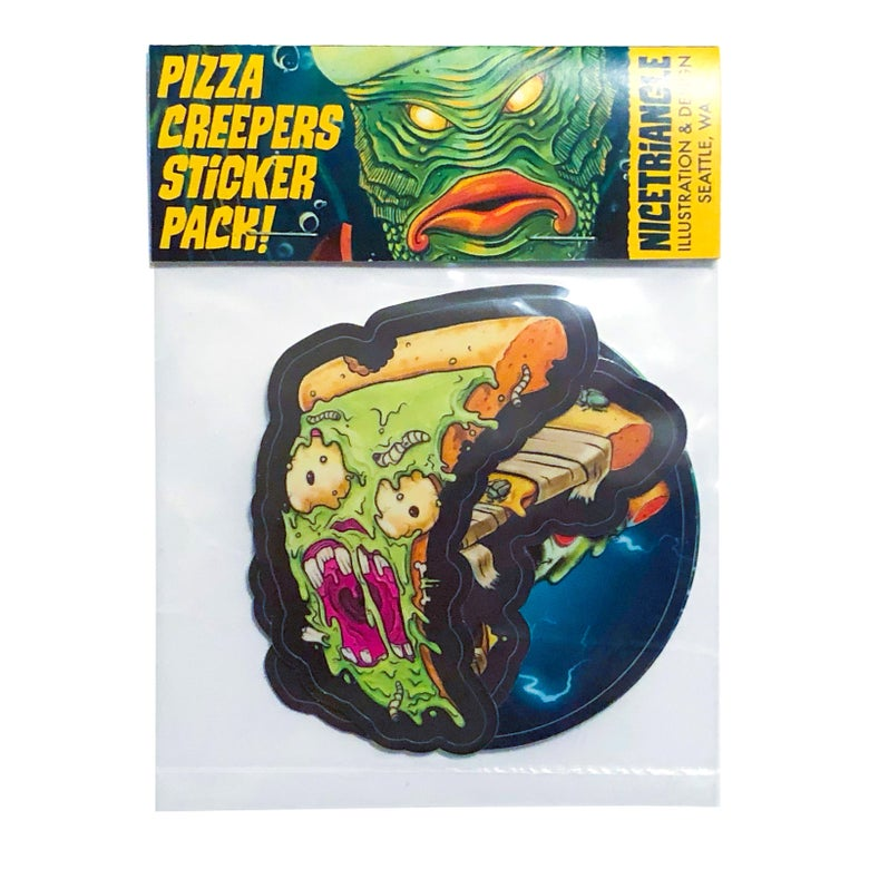 Image of Pizza Monster Sticker Pack