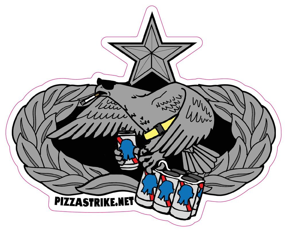 Image of MX Badge Sticker (7-Level)