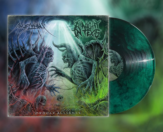 Image of UNHOLY ALLIANCE VINYL *LIMITED EDITION*