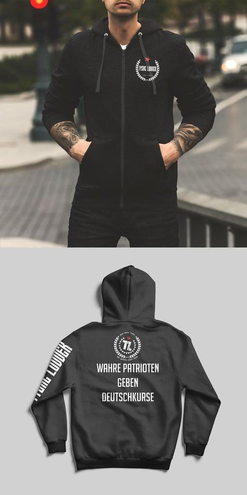 "Image of Tyske Ludder ""WAHRE PATRIOTEN"" - hooded jacket"