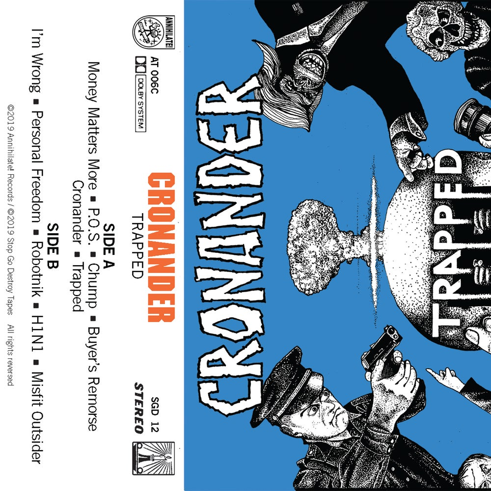 Image of Cronander: Trapped CD and Cassette