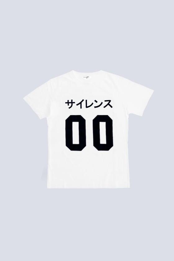 Image of Silence 00 Tshirt White