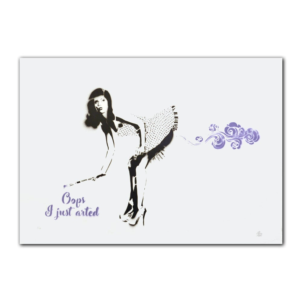 Image of Ann Maleri - Oops, I just arted (purple)