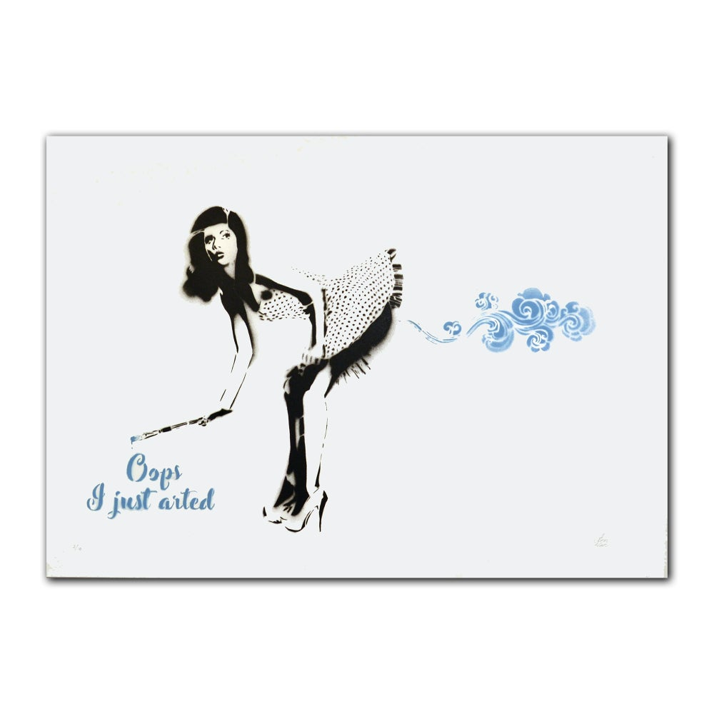 Image of Ann Maleri - Oops, I just arted (blue)