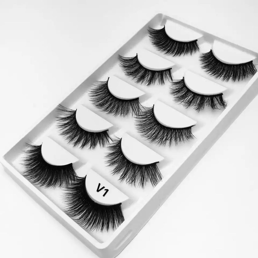 Image of Set of 5 Faux Mink Lashes