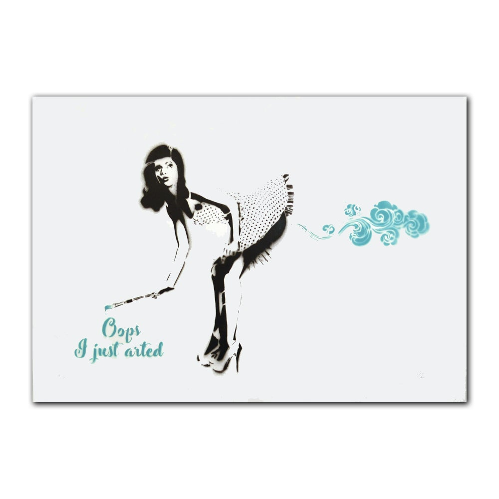 Image of Ann Maleri - Oops, I just arted (turquoise)