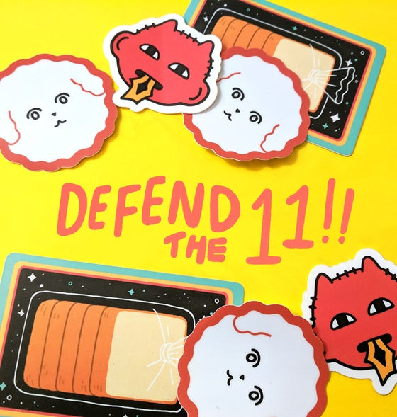 Image of Stickers for Defend the 11!!