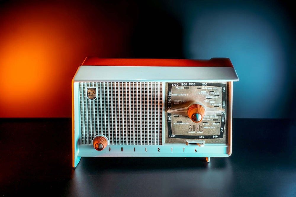 Image of PHILIPS PHILETTA B1F07A (1959) RADIO D'EPOCA BLUETOOTH