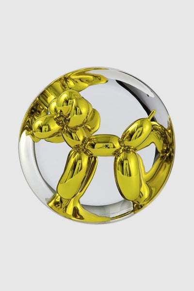 Image of Jeff Koons - Balloon Dog (Yellow)