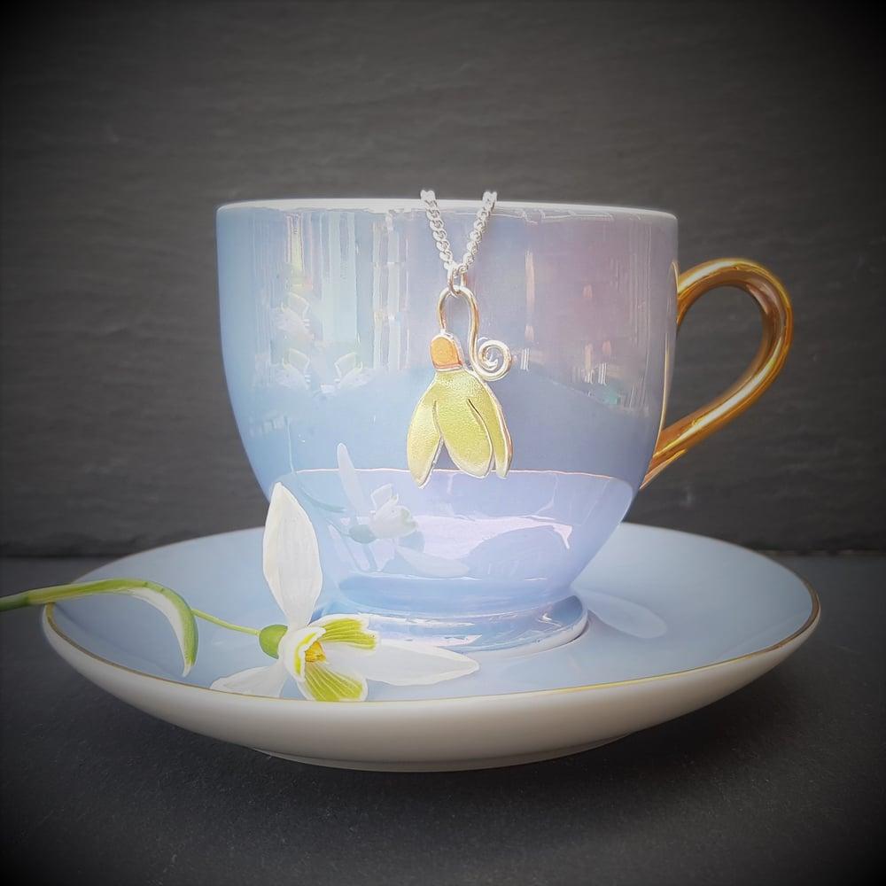 Image of Snowdrop Pendant