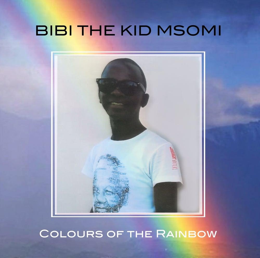Image of Bibi the Kid Msomi - Colours of the Rainbow Mini-LP (vinyl)