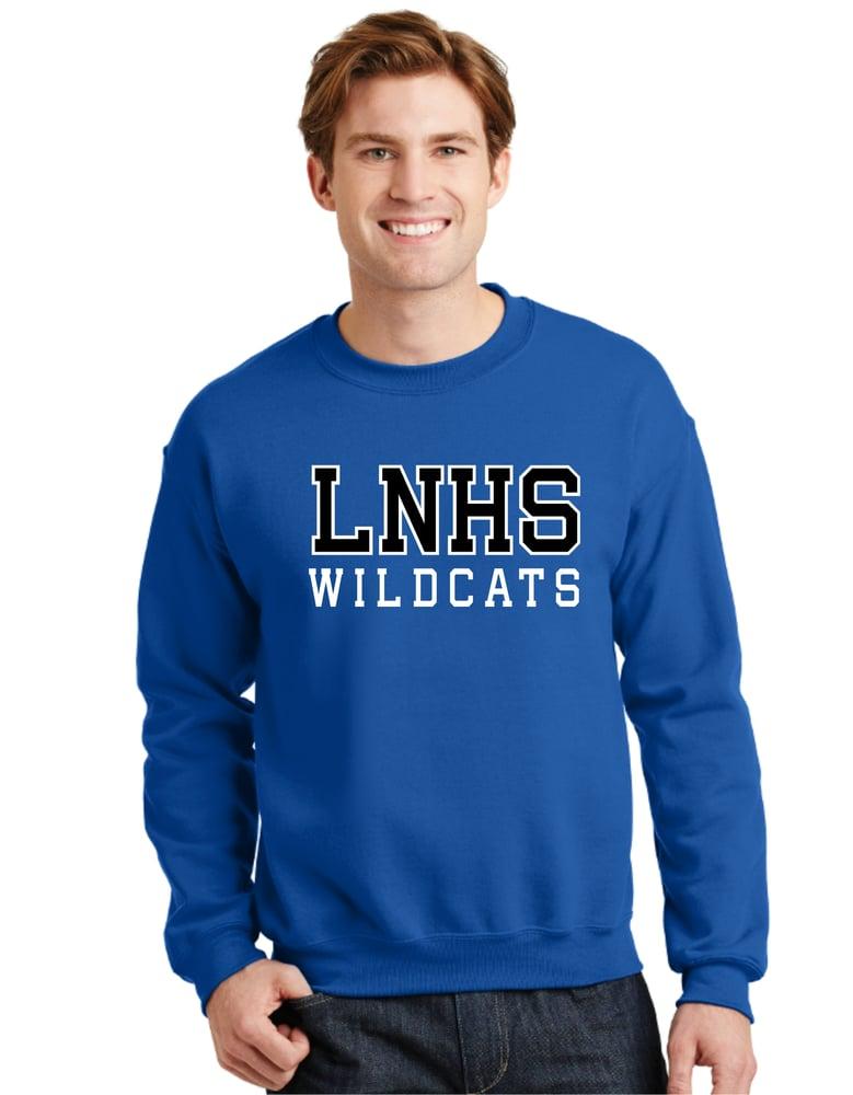 Image of Lake Norman Block Crewneck Sweatshirt 3 Color Options!