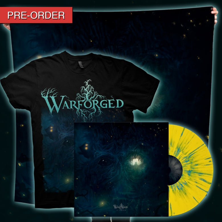 Image of WARFORGED - I: Voice - Firefly Flag/LP Bundle