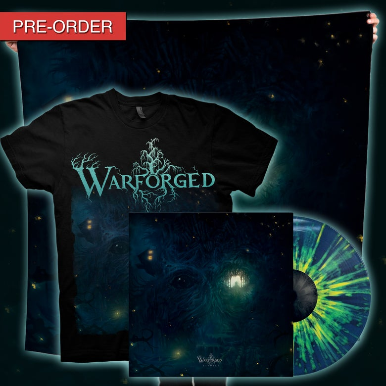 Image of WARFORGED - I: Voice - Nightfall Flag/LP Bundle