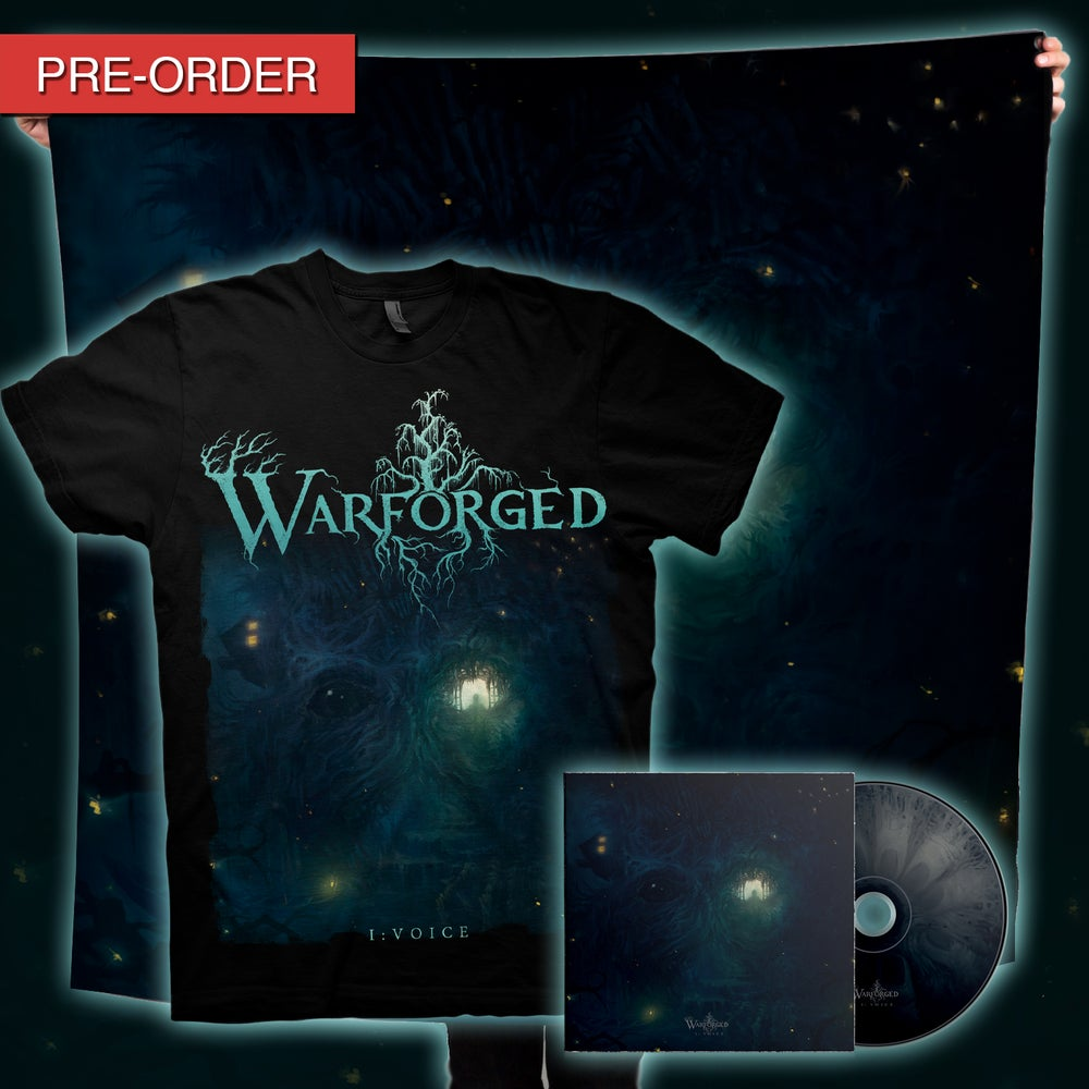 Image of WARFORGED - I: Voice - CD/Flag Bundle