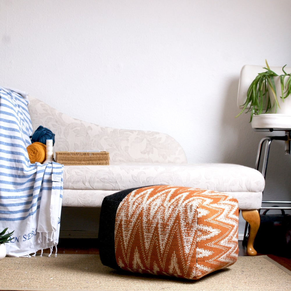 Image of Made to order pouffe - asymmetric square