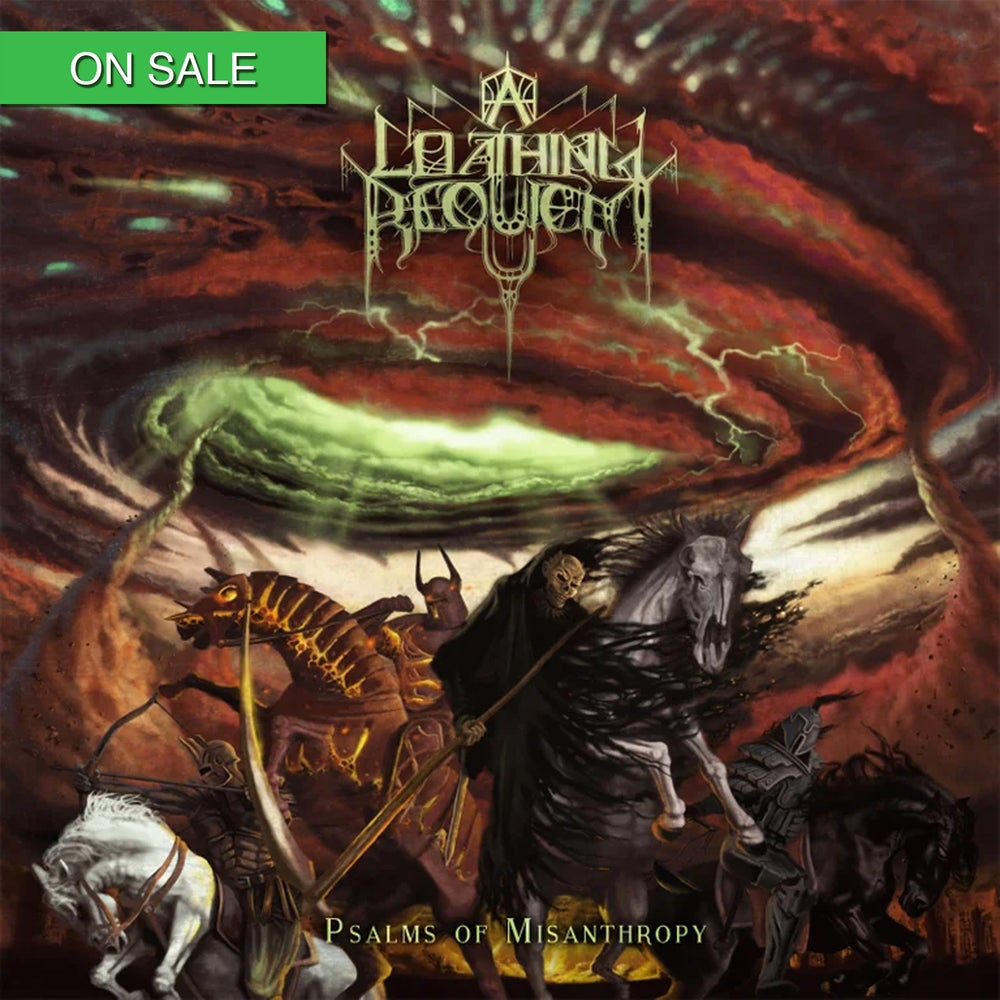 Image of A LOATHING REQUIEM - Psalms of Misanthropy (Re-issue) CD