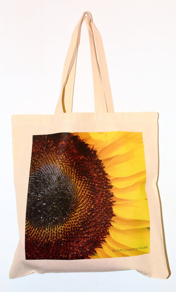 Image of Canvas Reusable Tote Bag (Sunflower, Serenity, Dainty, Ravenel Bridge)