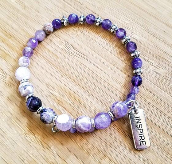 Image of Inspiring Amethyst Bracelet