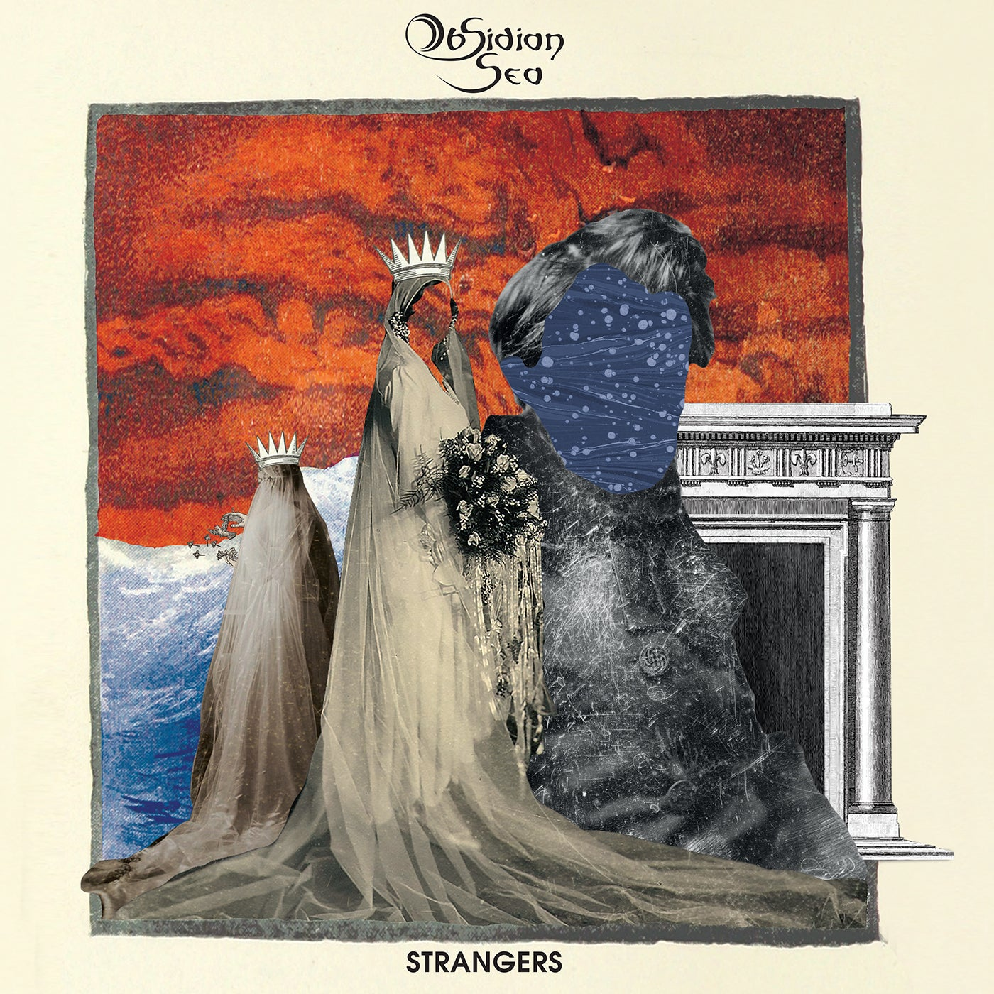 "Image of Obsidian Sea - Strangers ""Strange in Black"" Midnight Black Vinyl Edition"