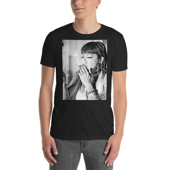 Image of Your HIGHness Rosie Riott Unisex Tee in Black