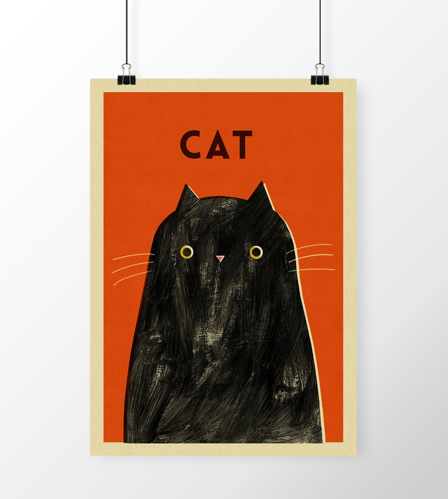 "Image of A3 ""CAT"" Print"