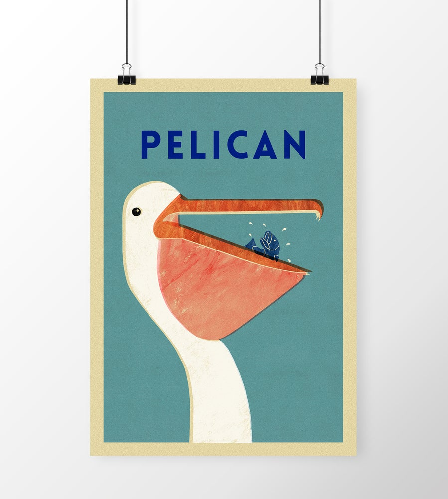 "Image of A3 ""PELICAN"" Print"
