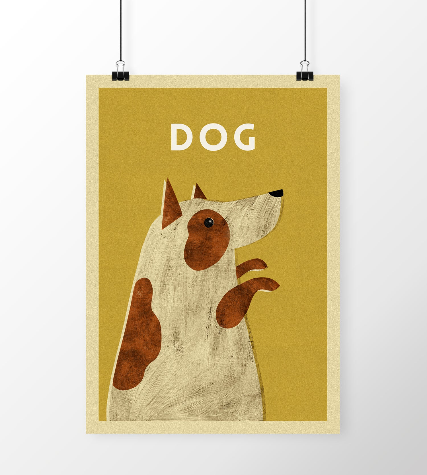 "Image of A3 ""DOG"" Print"