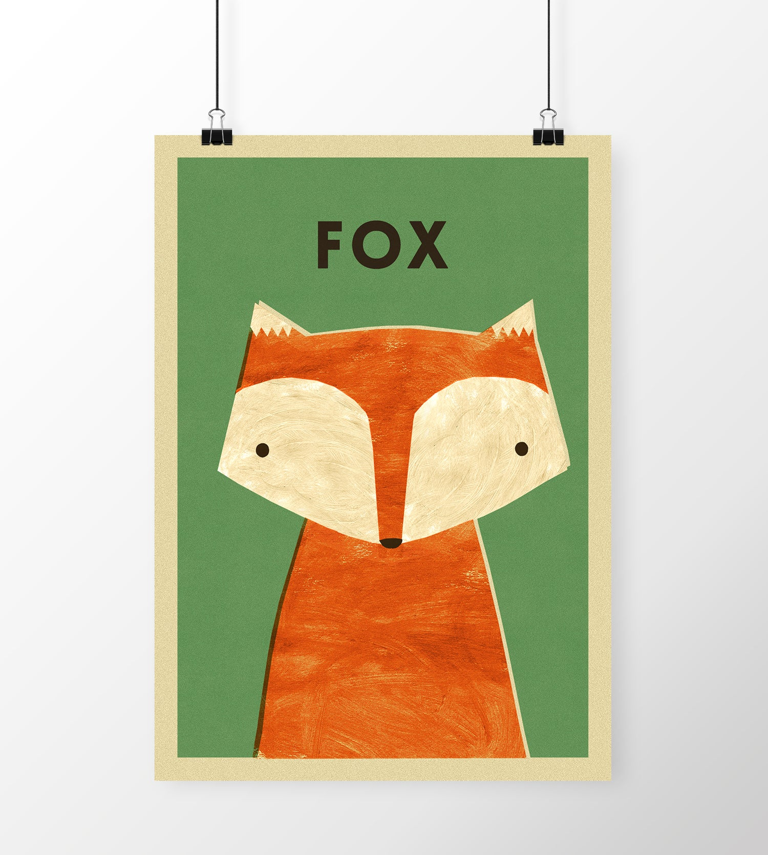 "Image of A3 ""FOX"" Print"