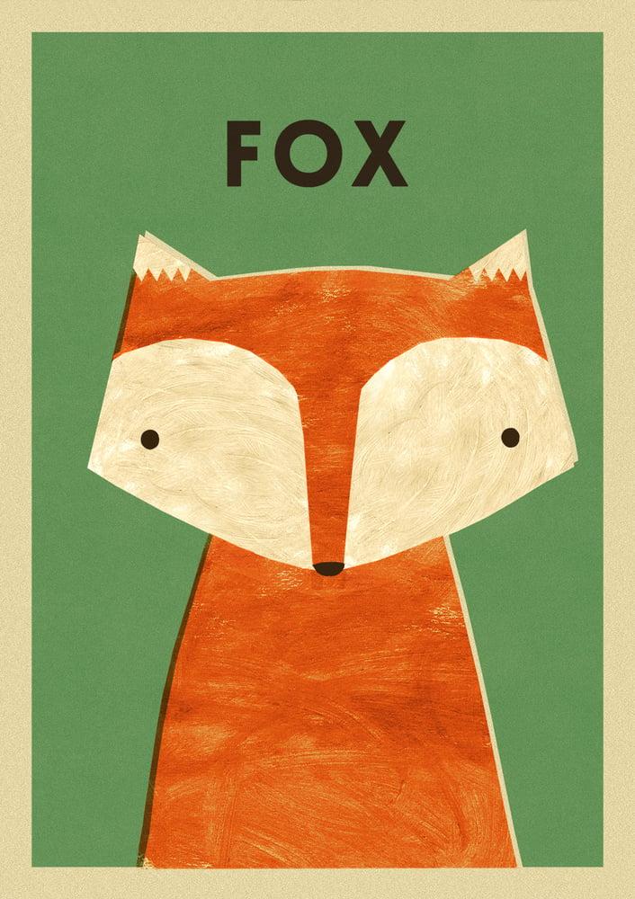 "Image of A3 ""FOX"" Print"