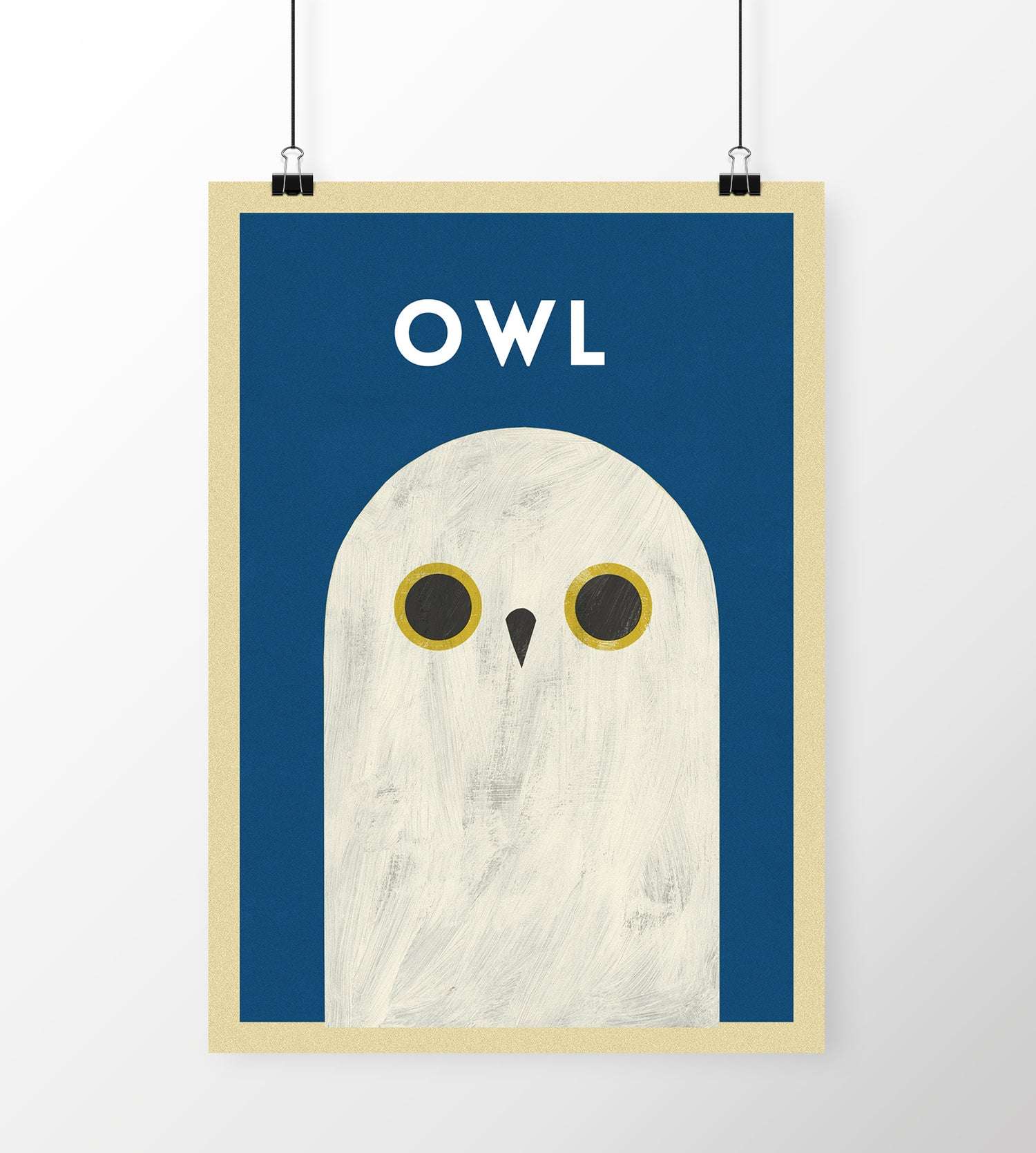 "Image of A3 ""OWL""  Print"