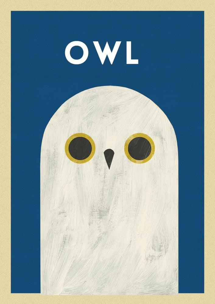 "Image of A3 ""OWL""  Print"