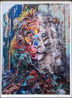 Image of Bordalo II - Half Lion