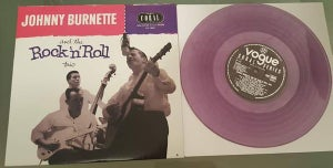 "Image of 10"" LP. Johnny Burnette & The Rock 'n' Roll Trio : S/T.   Ultra Ltd Edition."