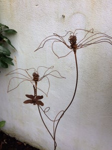 Image of Double Lily with Dragonfly