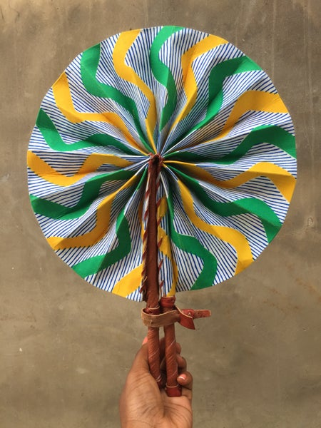 Image of Authentic Ghanaian Handheld Fan