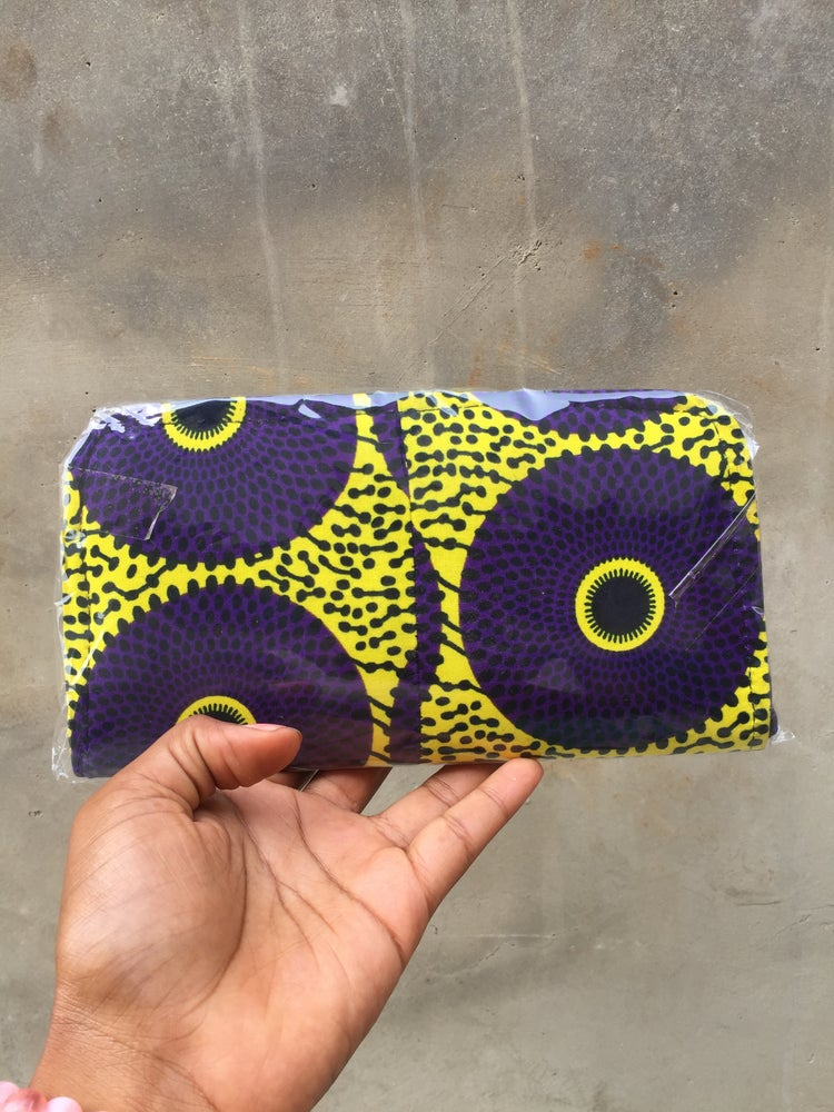 Image of West African Beauty Wallet Purse