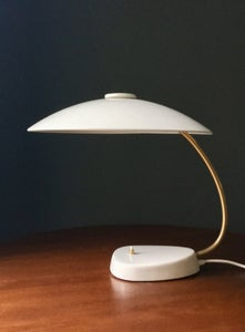 Image of Large Ivory-Coloured Task Lamp, 1960