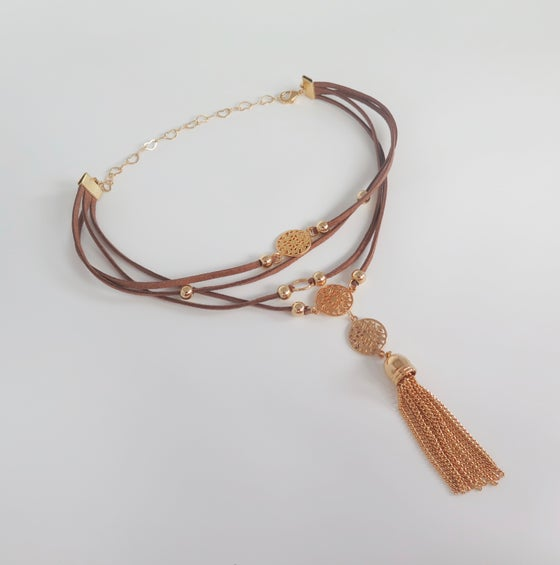 Image of Felice Brown layered choker